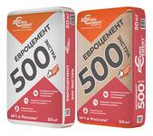 Евроцемент М500 бумага и полипропиленовой оболочке