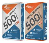 Евроцемент М500 сульфатостойкий в бумагжной и полипропиленовой оболочке
